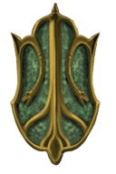 Emerald Boa Shield