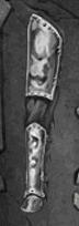 Battered Tin Legpiece