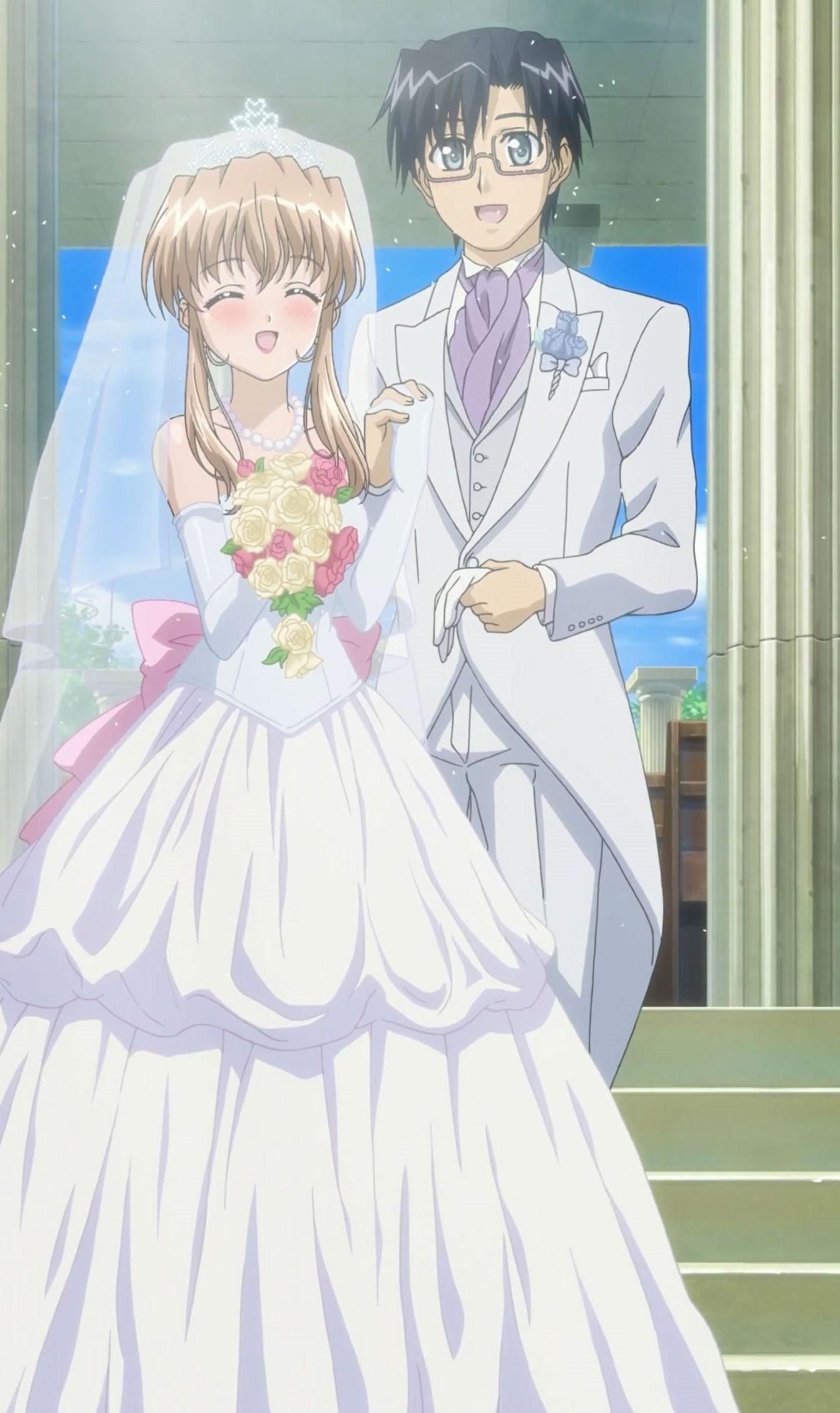 Image - Yuuto and Haruka Married.jpg | Nogizaka Haruka no ...