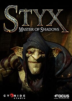 Styx Master of Shadows cover art