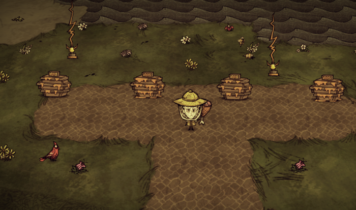 Don`t Starve No Hud