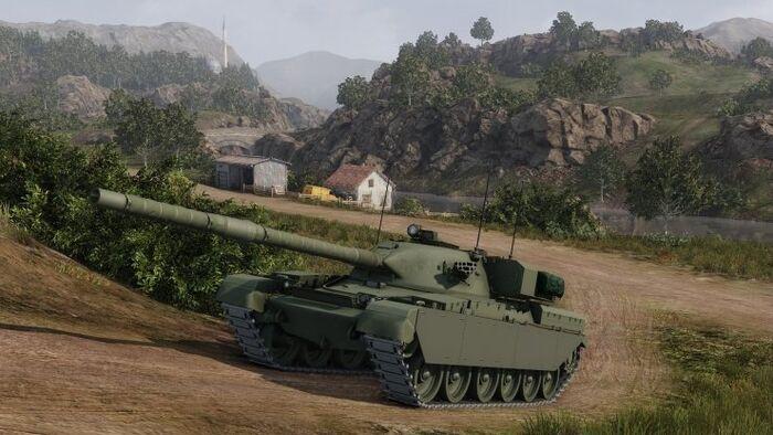 Armored Warfare No Hud
