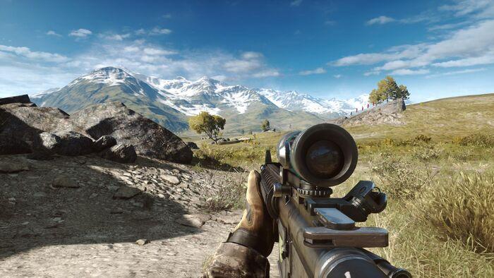 Battlefield 4 No Hud
