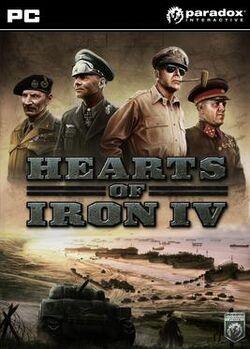 Hearts of Iron IV packshot