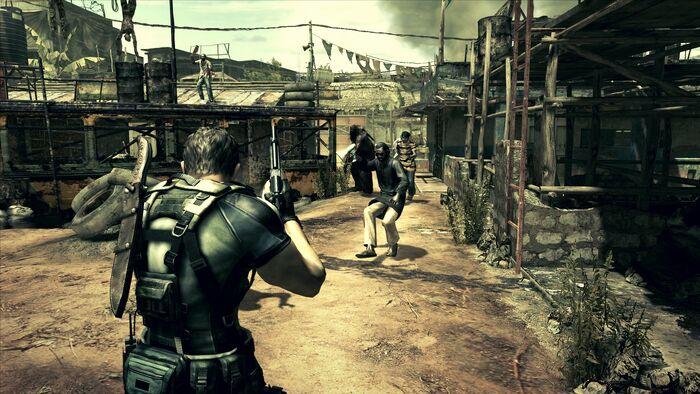 Resident Evil 5 No Hud