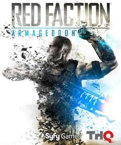 Red Faction Armageddon Game Cover