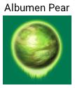 Albumen pearl icon