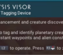 Analysis Visor