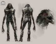 Dark one concept art
