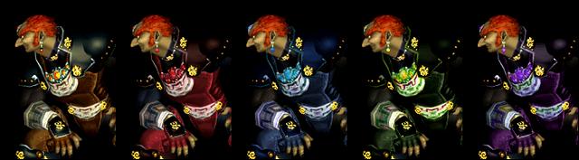 File:Ganondorf Palette Swaps Melee.png