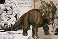 Pachyrhinosaurus mitisaura