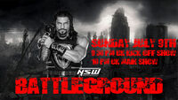 NSW Battleground Poster