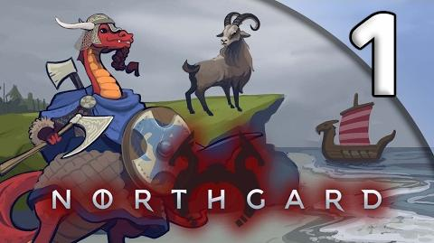 Northgard First Taste - 1. Clan of the Goat - Let's Play Northgard Gameplay