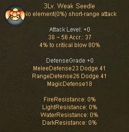 Weak Seedle Desc