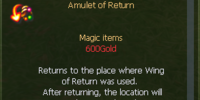 Amulet of Return