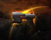 Weap big handgun