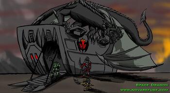 Natives spacedragon transport