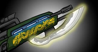 Tech weapon blazer bayonet
