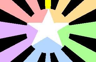 File:Whitestarmulticolorshiningcircle.jpg