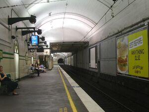 St James Station Platform 1