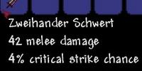 Zweihander Schwert