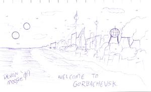 Gorbachevsk Sketch