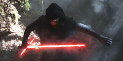 Kylo in the woods