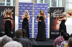 300px-Celtic Woman performs at Macquarie Shopping Centre, Sydney