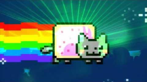 NYAN Cat RAVE - lol poptart cat by Ephixa & Going Quantum ( 1080p )