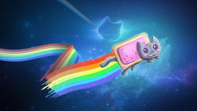 File:NyanCat wallpaper.jpg