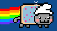 Smurf Cat
