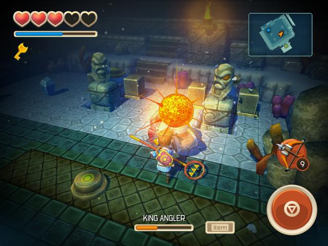 File:Hero hits Dead King Angler's golden sphere.png