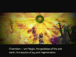 Neyto speaks through Emblem of Earth