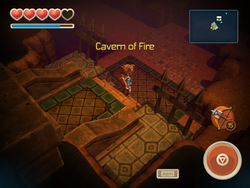 Cavern of Fire entrance