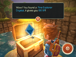 Fine Explorer Crystal
