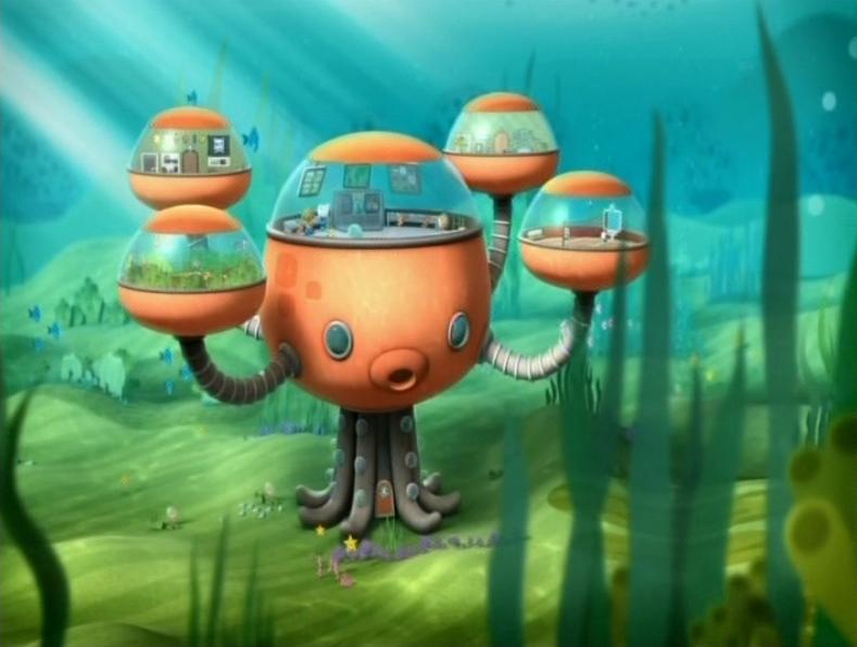 octopod octonauts wiki fandom powered by wikia