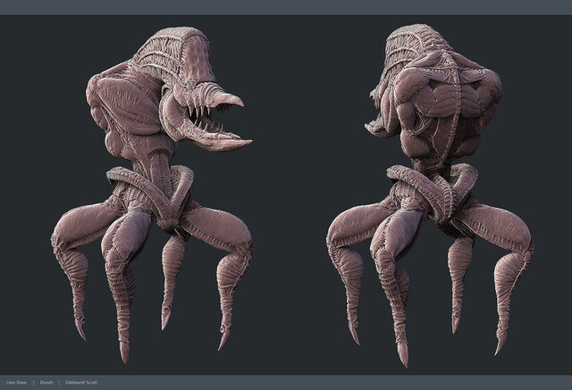 File:Scrab from oddworld by liamslackofsurprise-d5crns5.jpg