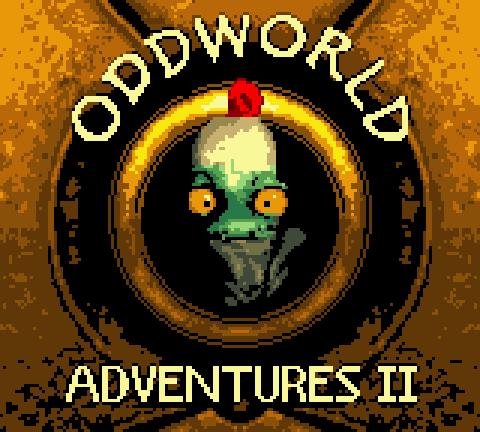 File:Oddworld Adventures II GBC Title.PNG