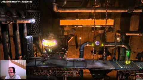 Oddworld New 'n' Tasty with the developers