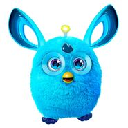 A blue Furby Connect