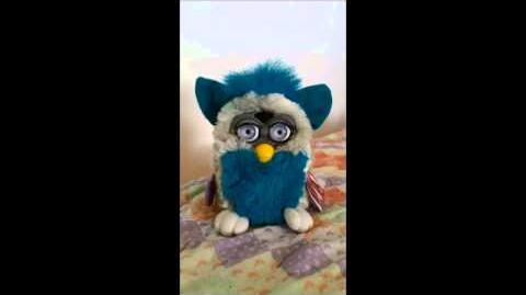 "Series 8 Spanish ""Green Bean"" Furby For Sale"