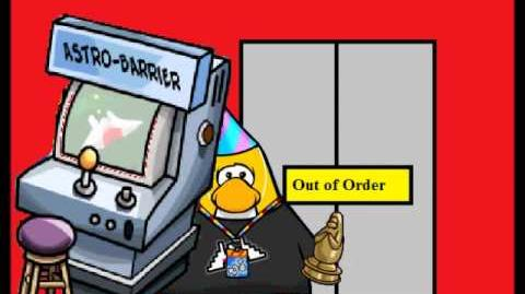 Club Penguin: Trapped in an Elevator