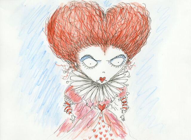 File:Tim Burton The Red Queen Art.jpg