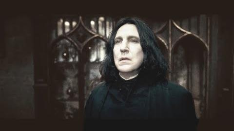 Severus Snape - Important Scenes in Chronological Order