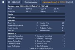 Example Esp. Report