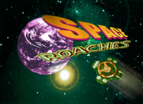 Space Roaches Title