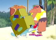 Oggy goes to hawaii