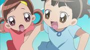 Momoko's hair!