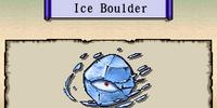 Ice Boulder