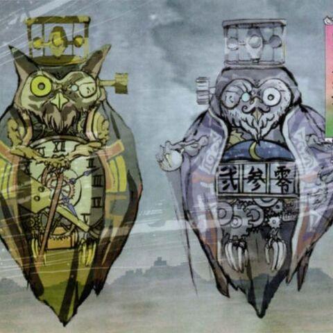 Artwork of Lechku & Nechku.